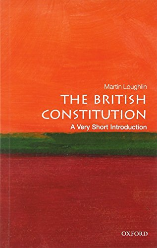 9780199697694: The British Constitution: A Very Short Introduction (Very Short Introductions)