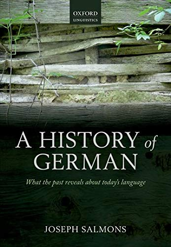 9780199697939: A History of German (Oxford Linguistics)
