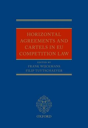 9780199698202: Horizontal Agreements and Cartels in EU Competition Law