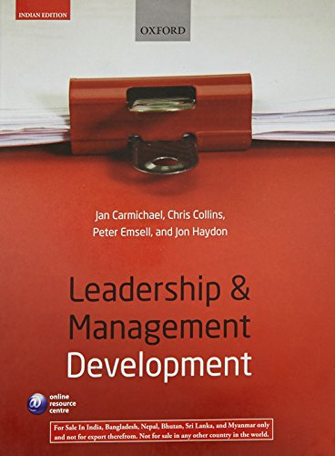 9780199699230: Leadership & Management Development