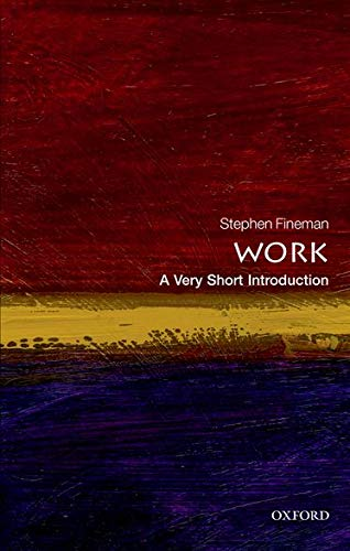 9780199699360: Work: A Very Short Introduction