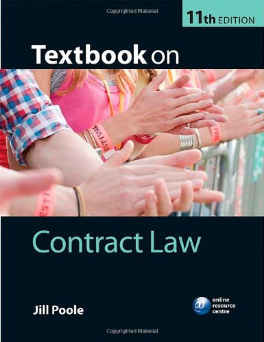 9780199699469: Textbook on Contract Law