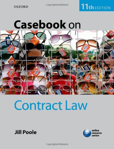9780199699483: Casebook on Contract Law