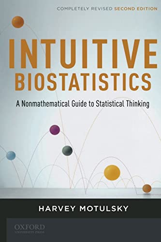 9780199730063: Intuitive Biostatistics: A Nonmathematical Guide to Statistical Thinking