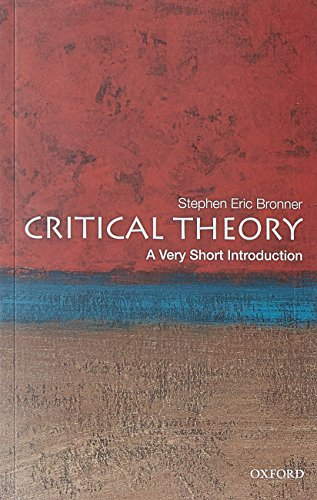 9780199730070: Critical Theory: A Very Short Introduction