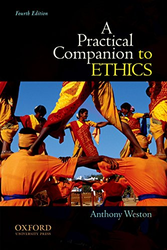9780199730582: A Practical Companion to Ethics