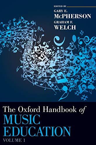9780199730810: The Oxford Handbook of Music Education, Volume 1 (Oxford Handbooks)