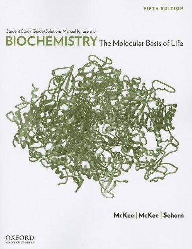 9780199730971: Biochemistry: The Molecular Basis of Life
