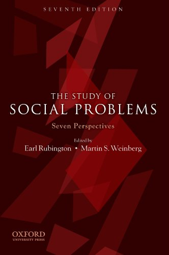 9780199731879: The Study of Social Problems: Seven Perspectives