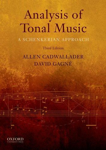9780199732470: Analysis of Tonal Music: A Schenkerian Approach