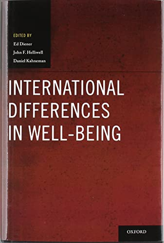 9780199732739: International Differences in Well-Being (Oxford Positive Psychology Series)