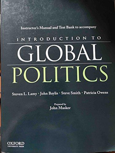 introduction to global politics steven lamy pdf