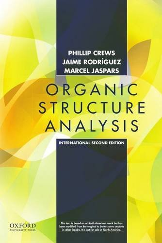 9780199733224: Organic Structure Analysis