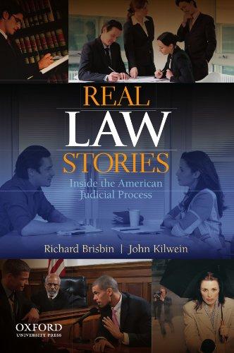 Real Law Stories: Inside the American Judicial: Brisbin, Richard; Kilwein,