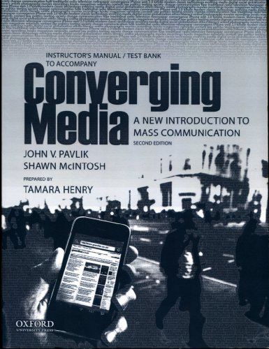 9780199733743: Pavlik: INSTR MAN TO CONVERGING B: A New Introduction to Mass Communication