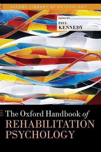 9780199733989: The Oxford Handbook of Rehabilitation Psychology (Oxford Library of Psychology)