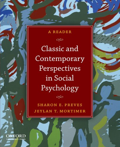 9780199733996: Classic and Contemporary Perspectives in Social Psychology: A Reader
