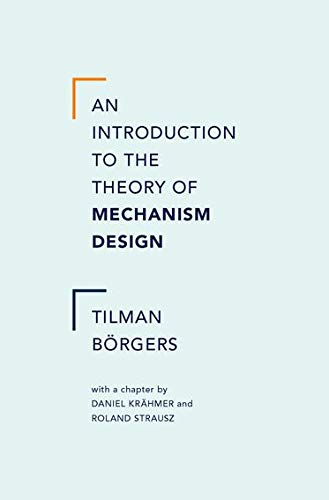 9780199734023: An Introduction to the Theory of Mechanism Design