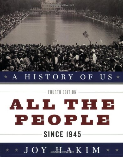 History of US since 10 All the People 4th Edition