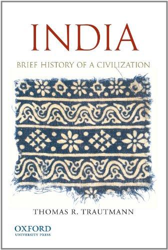 9780199736324: India: Brief History of a Civilization