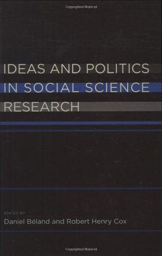 9780199736430: Ideas and Politics in Social Science Research