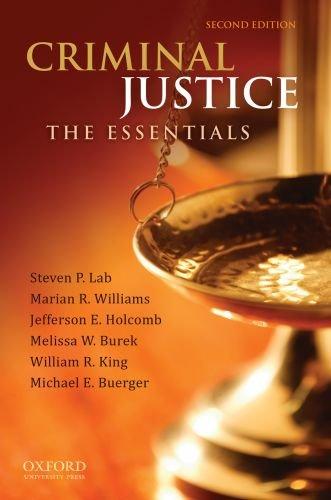 Criminal Justice: The Essentials: Steven P. Lab,
