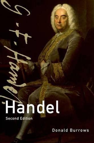 9780199737369: Handel (Master Musicians Series)