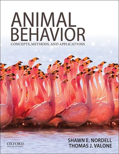 9780199737598: Animal Behavior: Concepts, Methods, and Applications