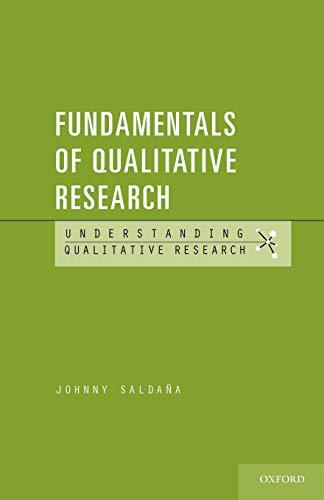 9780199737956: Fundamentals of Qualitative Research (Understanding Qualitative Research)