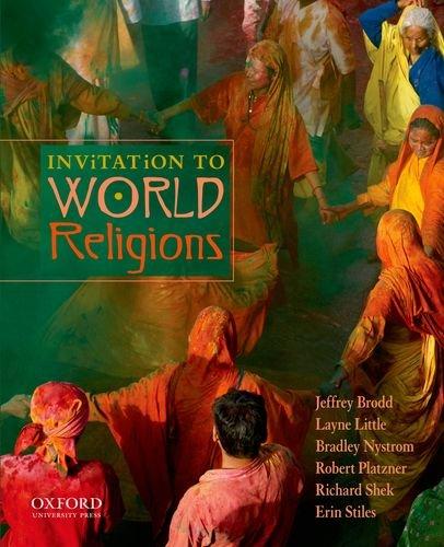 Invitation to World Religions: Brodd, Jeffrey; Little,