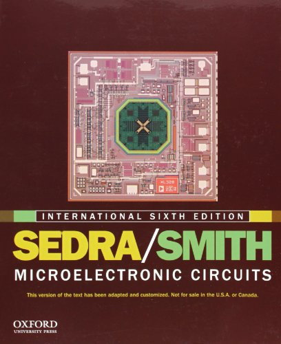 9780199738519: Microelectronic Circuits: International edition (The Oxford Series in Electrical and Computer Engineering)
