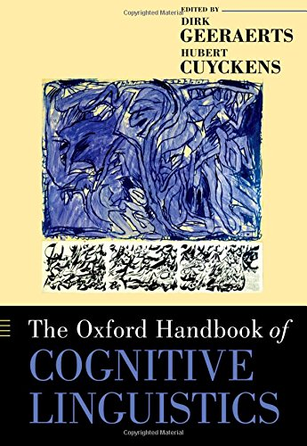 9780199738632: The Oxford Handbook of Cognitive Linguistics