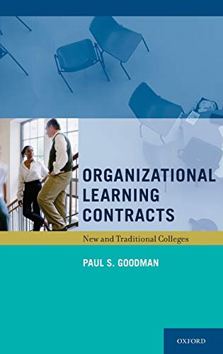 9780199738656: Organizational Learning Contracts: New and Traditional Colleges