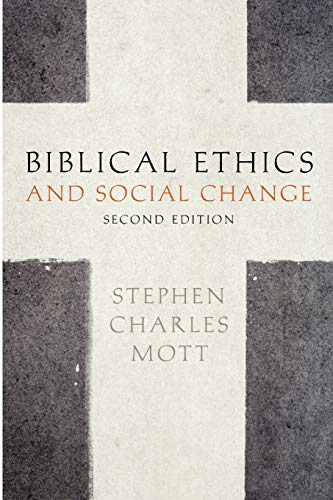 9780199739370: Biblical Ethics and Social Change