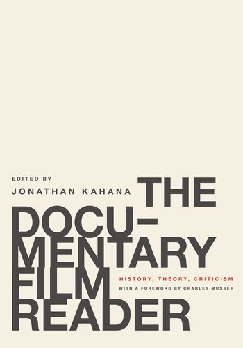 9780199739646: The Documentary Film Reader: History, Theory, Criticism