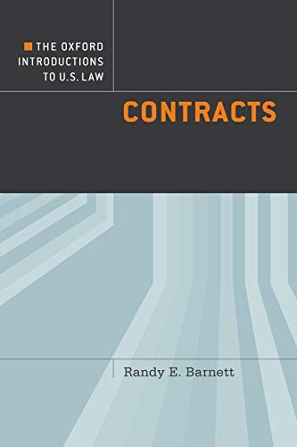9780199740185: The Oxford Introductions to U.S. Law: Contracts
