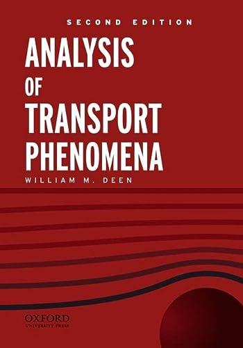 9780199740284: Analysis of Transport Phenomena