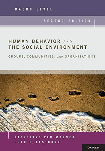 9780199740574: Human Behavior and the Social Environment, Macro Level: Groups, Communities, and Organizations