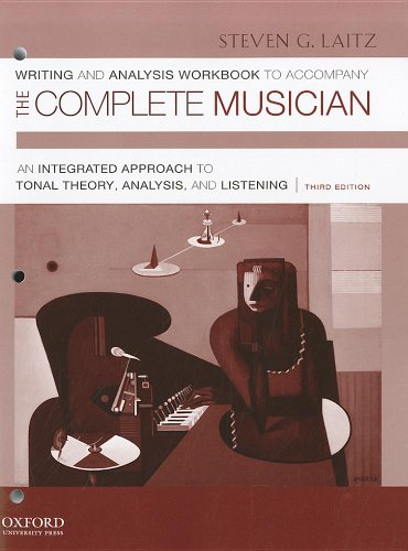 9780199742790: Writing and Analysis Workbook to Accompany The Complete Musician: Workbook 1