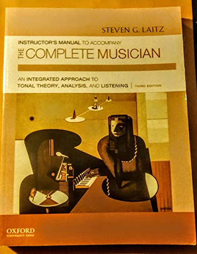9780199742813: Instructor's Manual to Accompany The Complete Musician