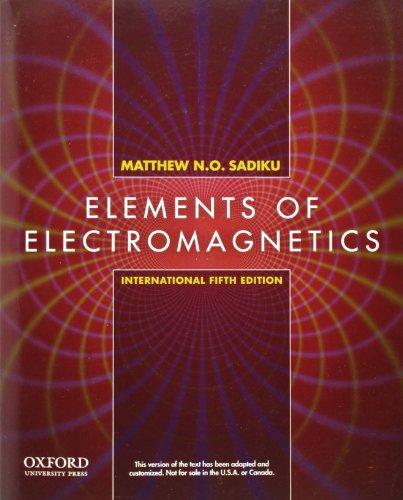9780199743001: Elements of Electromagnetics