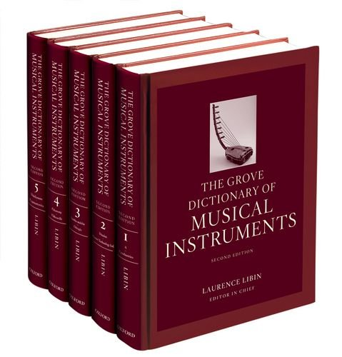 9780199743391: The Grove Dictionary of Musical Instruments: 5-volume set