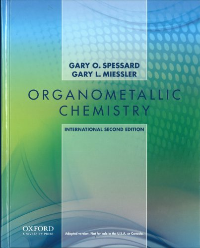 9780199744497: Organometallic Chemistry: International Edition