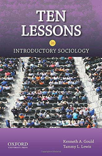 9780199746910: Ten Lessons in Introductory Sociology