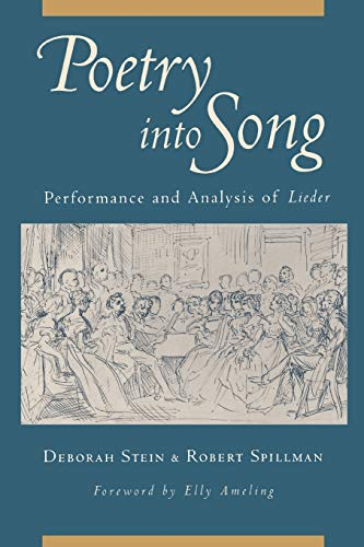 9780199754304: Poetry into Song: Performance and Analysis of Lieder