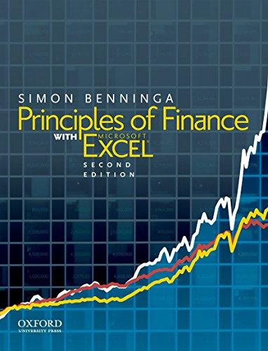 Principles of Finance with Excel (Hardcover): Simon Benninga