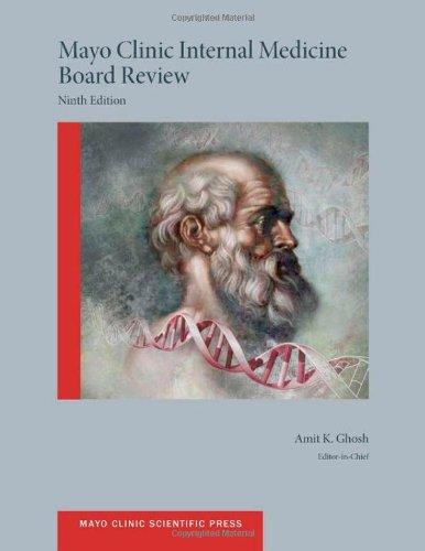 9780199755691: Mayo Clinic Internal Medicine Board Review (Mayo Clinic Scientific Press)