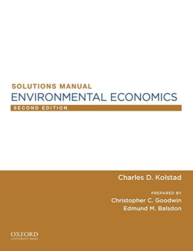 9780199755899: Environmental Economics SM