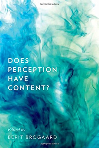 9780199756018: Does Perception Have Content? (Philosophy of Mind)