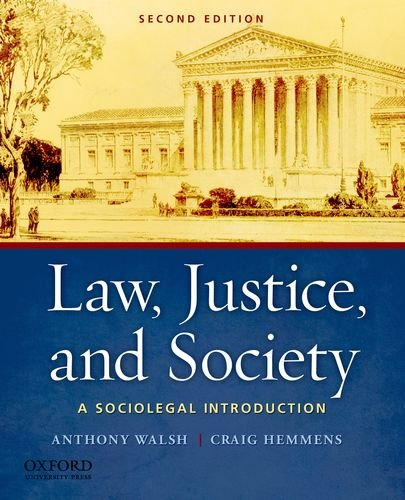 9780199757930: Law, Justice, and Society: A Sociolegal Introduction